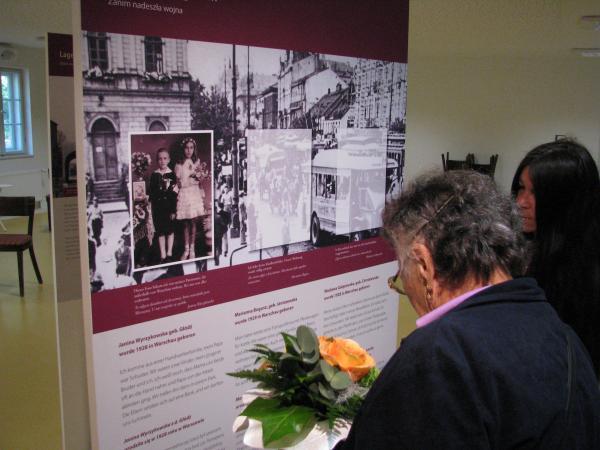 Oglądanie wystawy